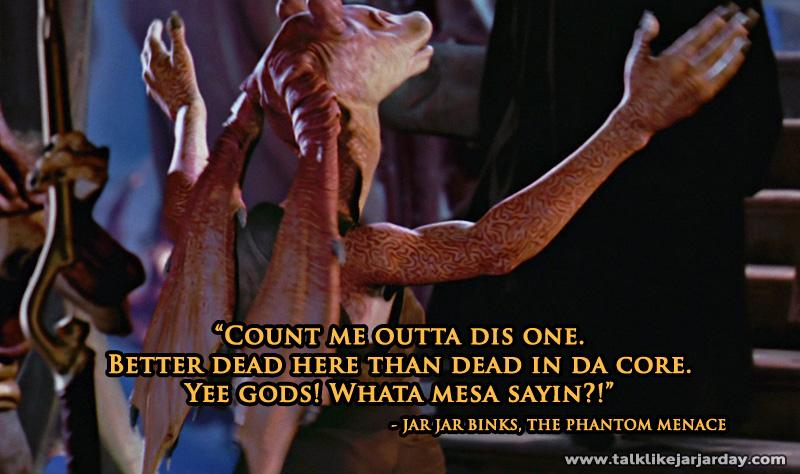 Count me outta dis one. Better dead here than dead in da core.