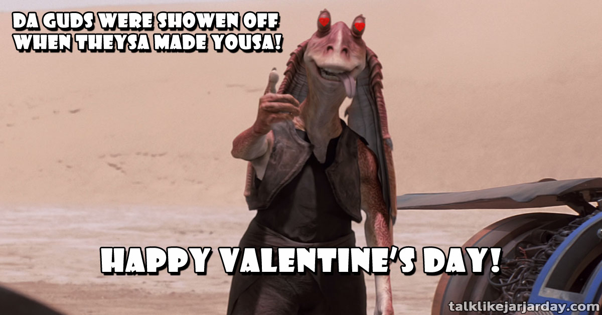 Da Guds were showen off when theysa made yousa!