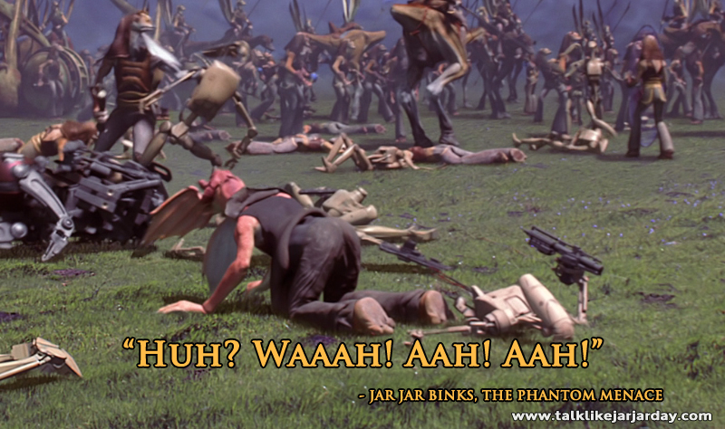 Huh? Waaah! Aah! Aah!
