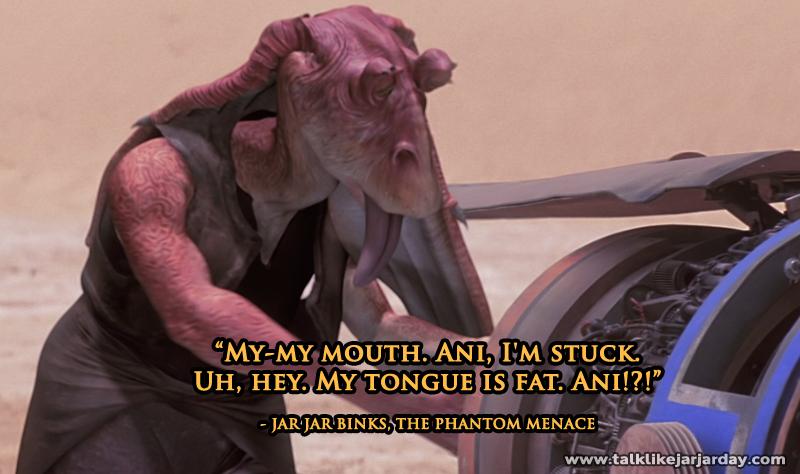 My-my mouth. Ani, I