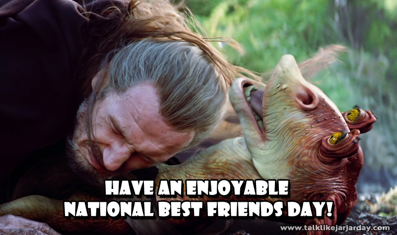 Have an enjoyable National Best Friend Day!