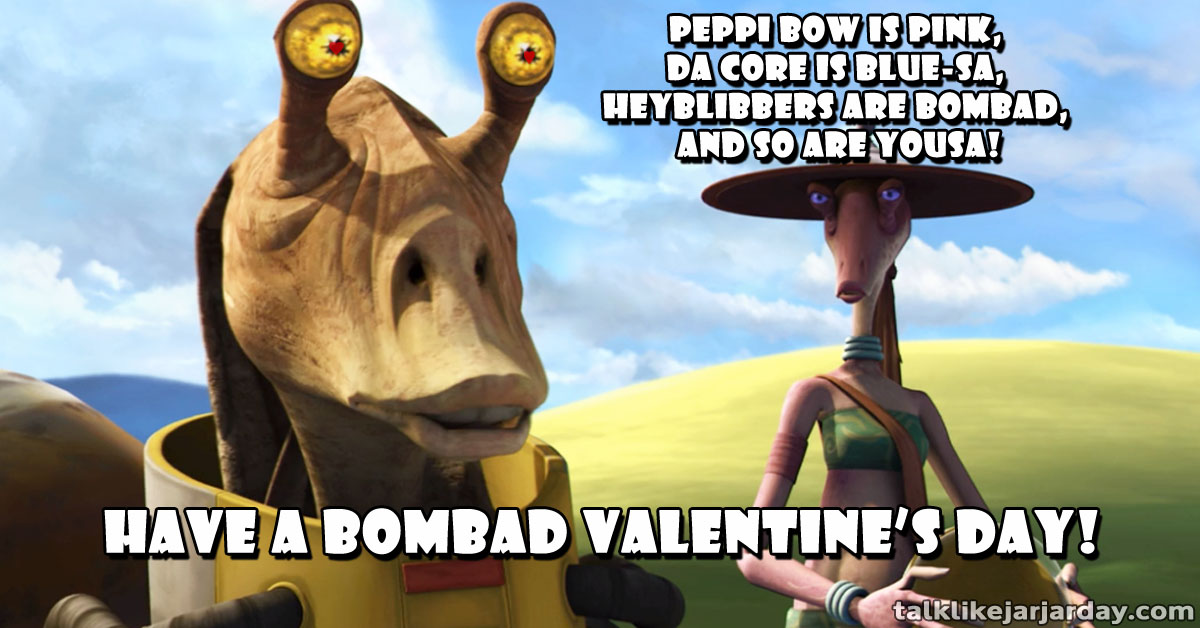 Peppi Bow is pink, Da Core is blue-sa, <br/> Heyblibbers are bombad, and so are yousa!