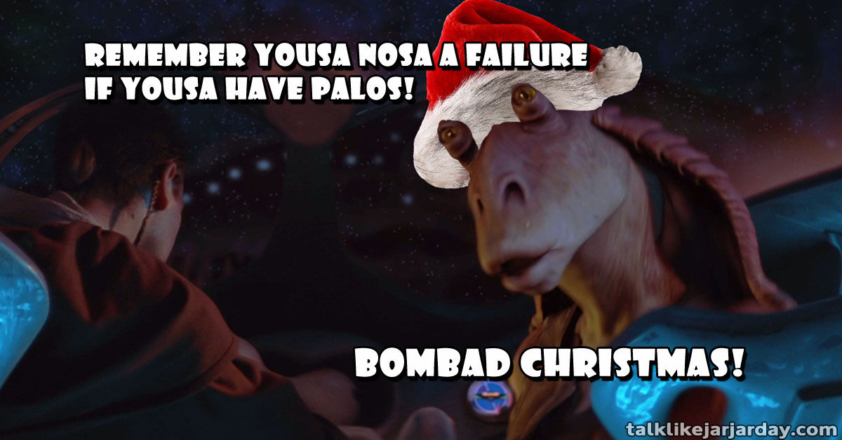 Remember yousa nosa a failure if yousa have Palos!