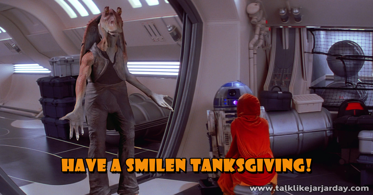 Have a smilen Tanksgiving!